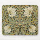 William Morris Pimpernel Vintage Pre-Raphaelite Mouse Pad