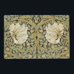 """William Morris Pimpernel Vintage Pre-Raphaelite Placemat<br><div class=""""desc"""">William Morris Pimpernel Floral Vintage Art Wallpaper Design William Morris was an English textile designer, artist, writer, and socialist associated with the Pre-Raphaelite Brotherhood and British Arts and Crafts Movement. He founded a design firm in partnership with the artist Edward Burne-Jones, and the poet and artist Dante Gabriel Rossetti which...</div>"""
