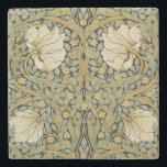 "William Morris Pimpernel Vintage Pre-Raphaelite Stone Coaster<br><div class=""desc"">William Morris Pimpernel Floral Vintage Art Wallpaper Design William Morris was an English textile designer, artist, writer, and socialist associated with the Pre-Raphaelite Brotherhood and British Arts and Crafts Movement. He founded a design firm in partnership with the artist Edward Burne-Jones, and the poet and artist Dante Gabriel Rossetti which...</div>"