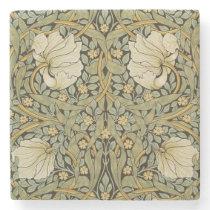 William Morris Pimpernel Vintage Pre-Raphaelite Stone Coaster