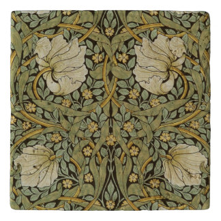 William Morris Pimpernel Vintage Pre-Raphaelite Trivet