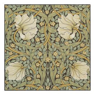 William Morris Pimpernel Vintage Pre-Raphaelite Wood Print