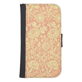 William Morris Pink and Rose Design Phone Wallets