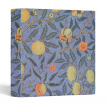 William Morris Pomegranate Floral Vintage Fine Art Binder