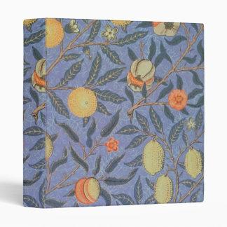 William Morris Pomegranate Floral Vintage Fine Art Binder