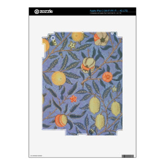 William Morris Pomegranate Floral Vintage Fine Art iPad 3 Skin