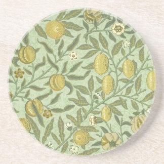 William Morris Pomegranate Fruit Design Coaster
