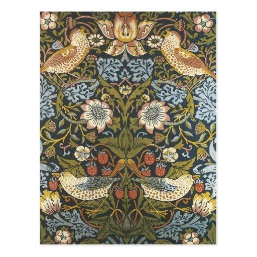 William Morris Postcard