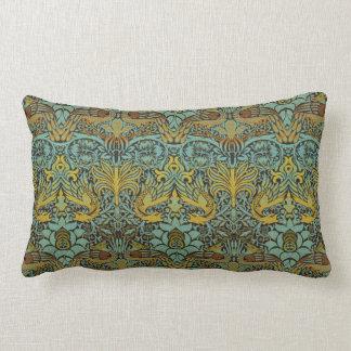 William Morris Pre-Raphaelite Dragon Pillow