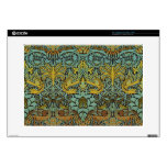 William Morris Pre-Raphaelite Dragon Decals For Laptops