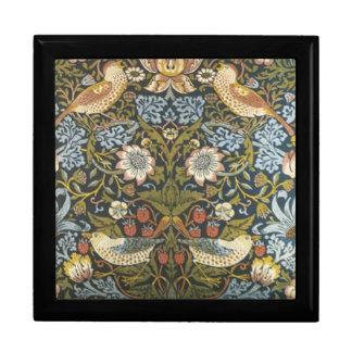William Morris Pre Raphaelite Fine Art Tiles Keepsake Box