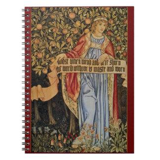 William Morris Pre-Raphaelite Notebook