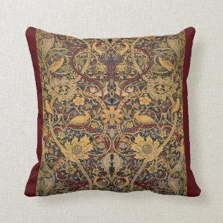William Morris Pre-Raphaelite Throw Pillow