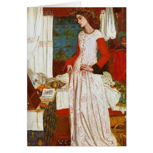 William Morris - Queen Guinevere Card