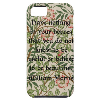 William Morris Quote iPhone SE/5/5s Case