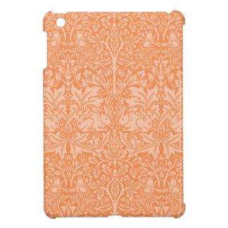 William Morris Rabbit Chintz Pattern Orange iPad Mini Cover