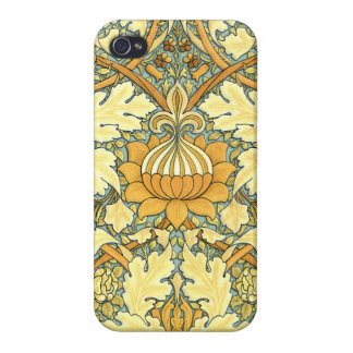William Morris rich floral pattern Case For iPhone 4