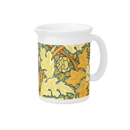 William Morris rich floral pattern Pitcher