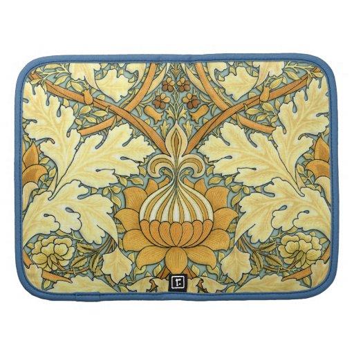William Morris rich floral pattern Planner