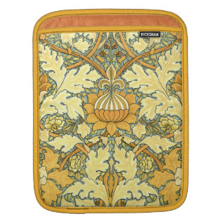 William Morris rich floral pattern Sleeve For iPads