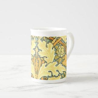 William Morris rich floral pattern Bone China Mug