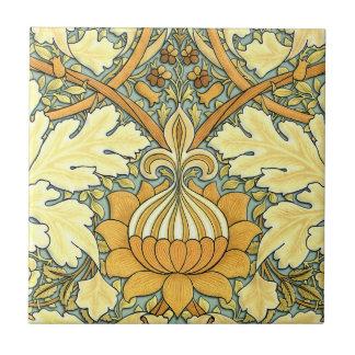 William Morris rich floral pattern Tile