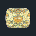 """William Morris rich floral vintage pattern Candy Tin<br><div class=""""desc"""">Pattern by William Morris adapted by YANKAdesigns! Beautiful vintage pattern with big stylized decorative flower and leaves.</div>"""