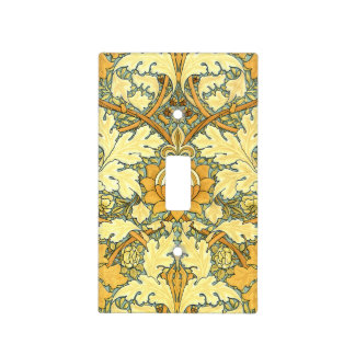 William Morris rich floral vintage pattern Light Switch Cover