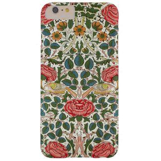 William Morris Rose Design Floral Vintage Fine Art Barely There iPhone 6 Plus Case