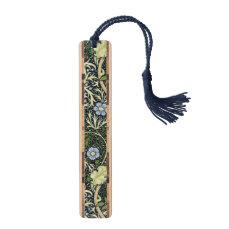 William Morris Seaweed Pattern Floral Vintage Art Bookmark