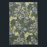 "William Morris Seaweed Pattern Floral Vintage Art Hand Towel<br><div class=""desc"">William Morris Seaweed Pattern Floral Vintage Art Wallpaper Design Watercolor Painting William Morris was an English textile designer, artist, writer, and socialist associated with the Pre-Raphaelite Brotherhood and British Arts and Crafts Movement. He founded a design firm in partnership with the artist Edward Burne-Jones, and the poet and artist Dante...</div>"