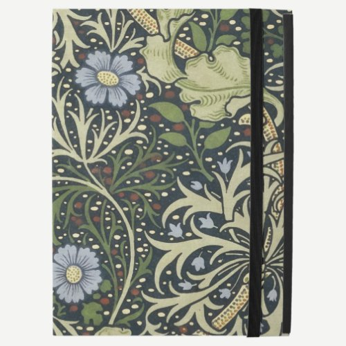 "William Morris Seaweed Pattern Floral Vintage Art iPad Pro 12.9"" Case"