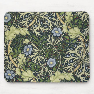 William Morris Seaweed Pattern Floral Vintage Art Mouse Pad