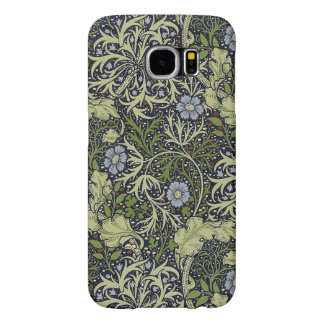 William Morris Seaweed Pattern Floral Vintage Art Samsung Galaxy S6 Cases