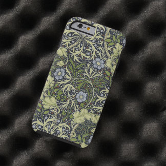 William Morris Seaweed Pattern Floral Vintage Art Tough iPhone 6 Case