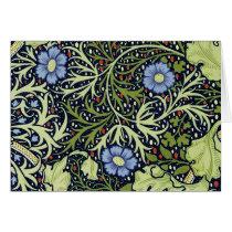 William Morris Seaweed Wallpaper Pattern