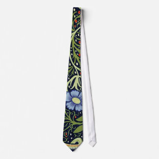 William Morris Seaweed Wallpaper Pattern Tie