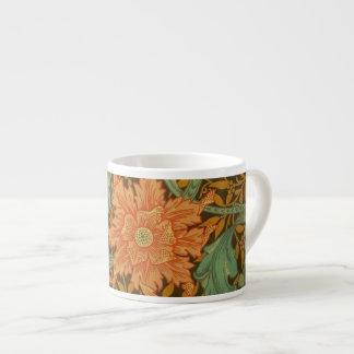 William Morris Single Stem Pattern Art Nouveau Espresso Cup