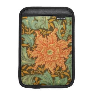 William Morris Single Stem Pattern Art Nouveau iPad Mini Sleeve