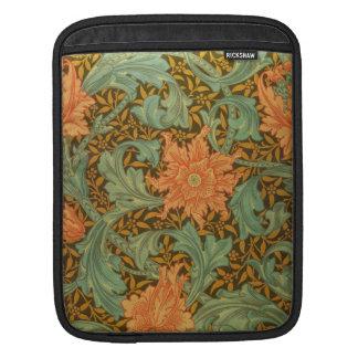 William Morris Single Stem Pattern Art Nouveau iPad Sleeves