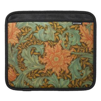William Morris Single Stem Pattern Art Nouveau Sleeve For iPads