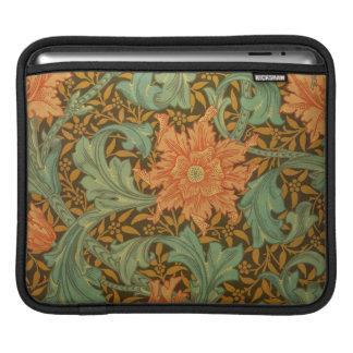 William Morris Single Stem Pattern Art Nouveau Sleeves For iPads