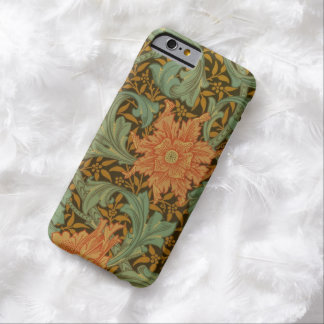William Morris Single Stem Pattern Floral Vintage Barely There iPhone 6 Case