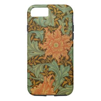 William Morris Single Stem Pattern Floral Vintage iPhone 8/7 Case