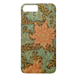 William Morris Single Stem Pattern Floral Vintage iPhone 8 Plus/7 Plus Case