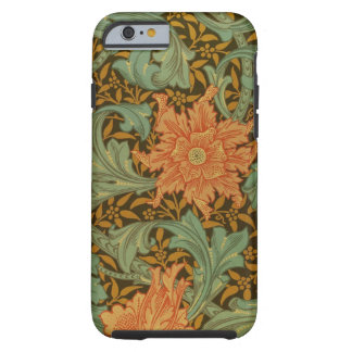 William Morris Single Stem Pattern Floral Vintage Tough iPhone 6 Case