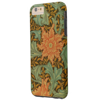 William Morris Single Stem Pattern Floral Vintage Tough iPhone 6 Plus Case