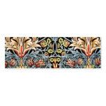 William Morris Snakeshead Design Double-Sided Mini Business Cards (Pack Of 20)