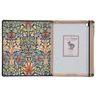 William Morris Snakeshead Design iPad Covers