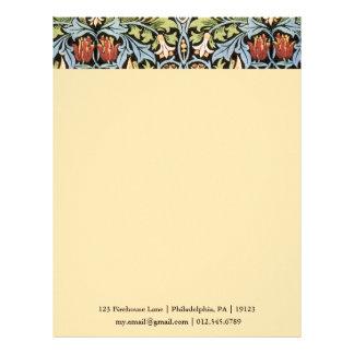 William Morris Snakeshead Design Letterhead